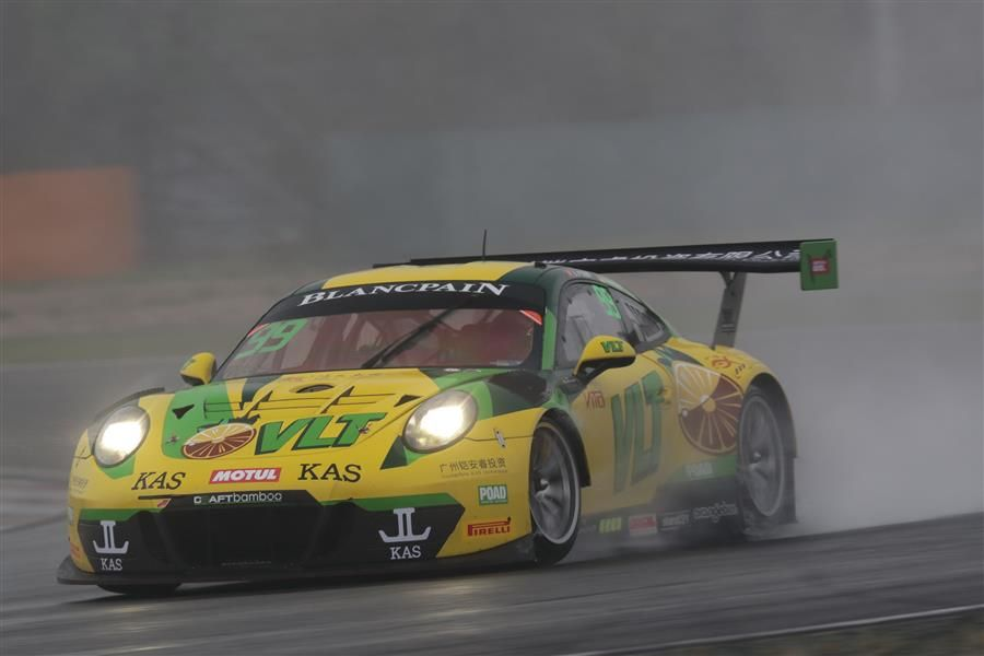 O'Young and Dienst claim Craft-Bamboo and Porsche's first series victory in Race 2 at Shanghai