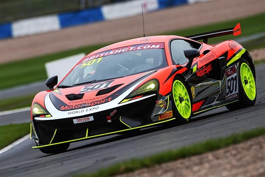 Johnson/Robinson claim British GT4 victory in wild Donington decider
