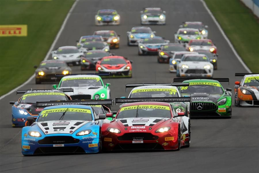 Parfitt Jnr and Morris crowned British GT3 champions as Johnston and Adam surrender their title