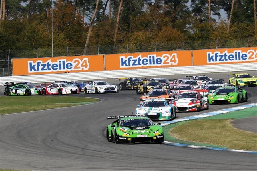 Lamborghini duo Ineichen and Engelhart claim final ADAC GT Masters victory of the season