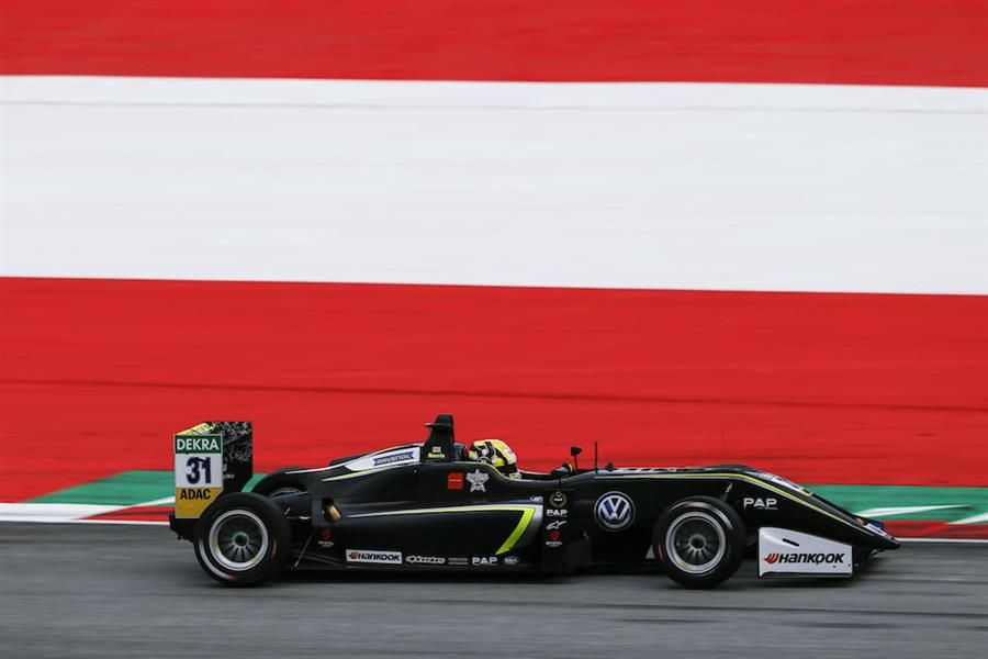 Champagne celebrations on hold for Euro F3 leader Norris