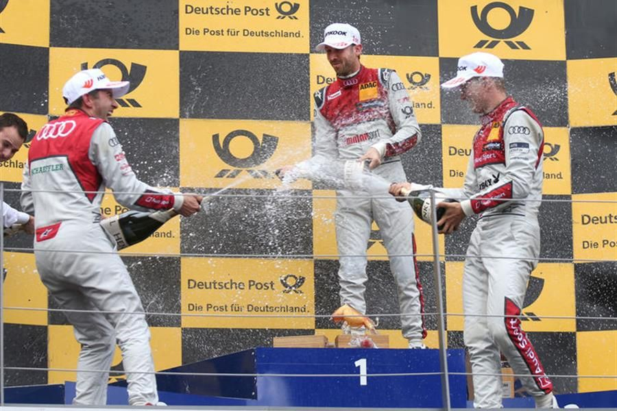 Audi one-two-three success in DTM thriller at Spielberg