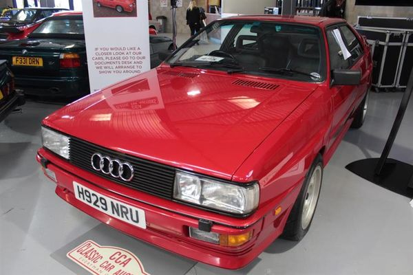 1991 Audi Quattro Turbo smashes record at Classic Car September Sale, results