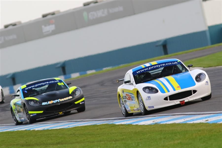 Richardson Racing secures second in Ginetta GT5 finale