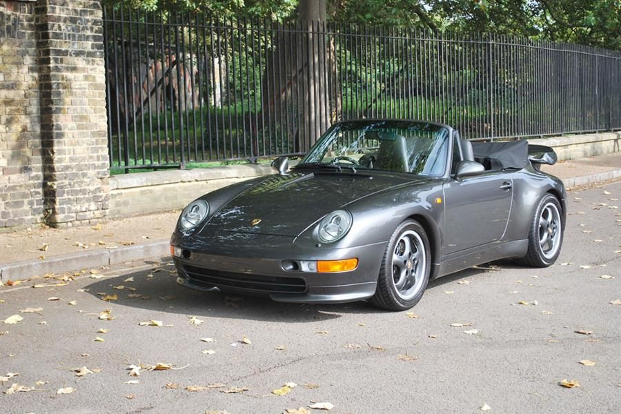 COYS to offer 1 of only 14 Porsche 993 Turbo Cabriolets produced, only rhd spec in existence
