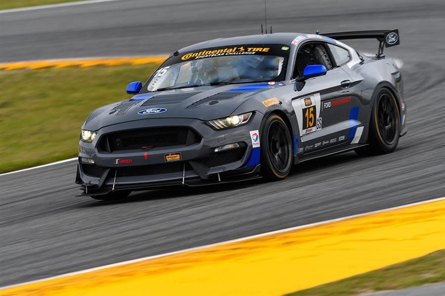 Ford Mustang GT4 enters final race of GT4 European Southern Cup at Paul Ricard