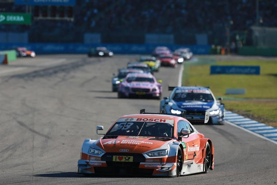 Perfect triple as Audi claims all three DTM titles