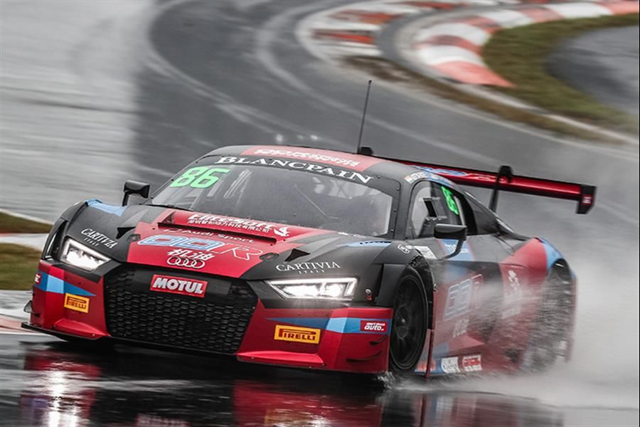 Patel/Gilbert win again but it's Abbott's GT Asia title by 1 point at soaking Zhejiang