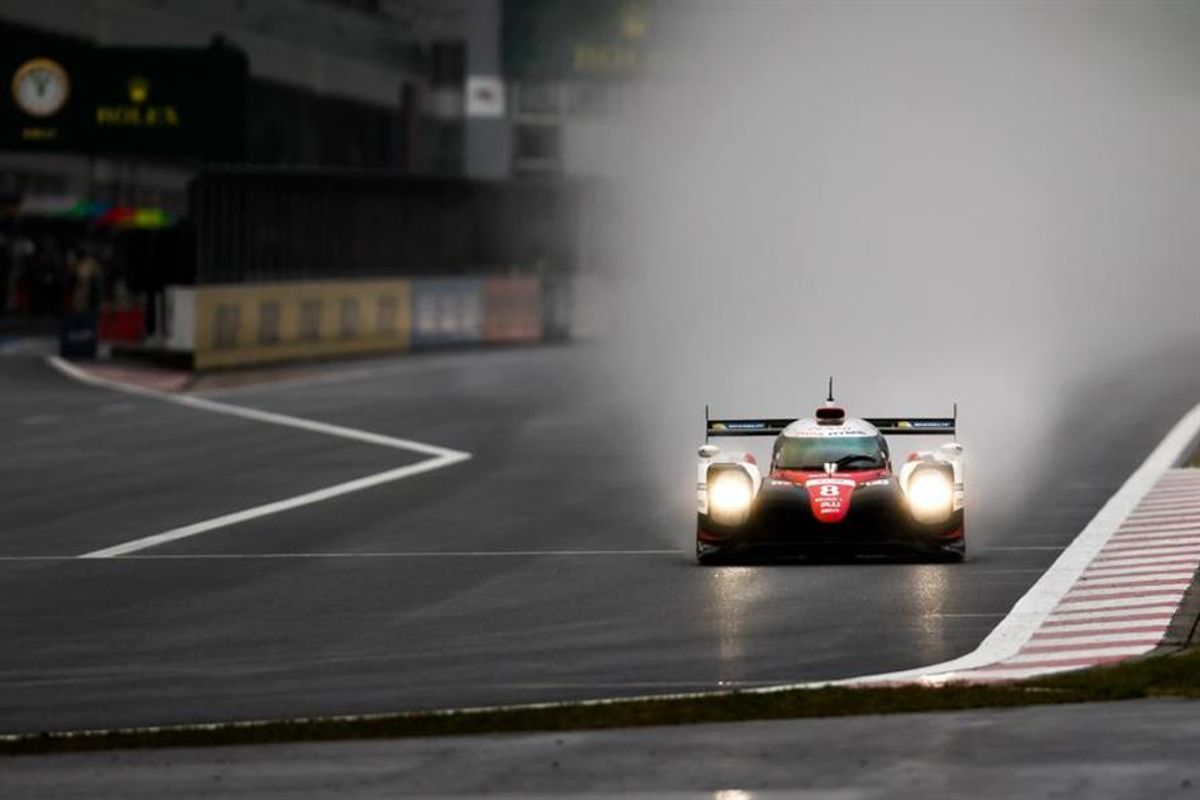 Toyota LMP1 1-2 in WEC 6 Hours of Fuji
