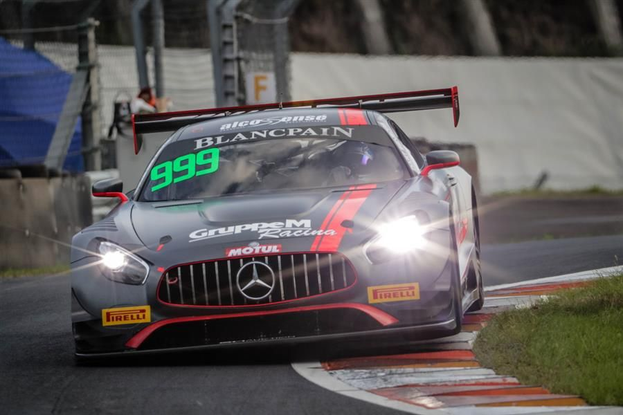 Triple Championship Victory For GruppeM In Blancpain GT Series Asia