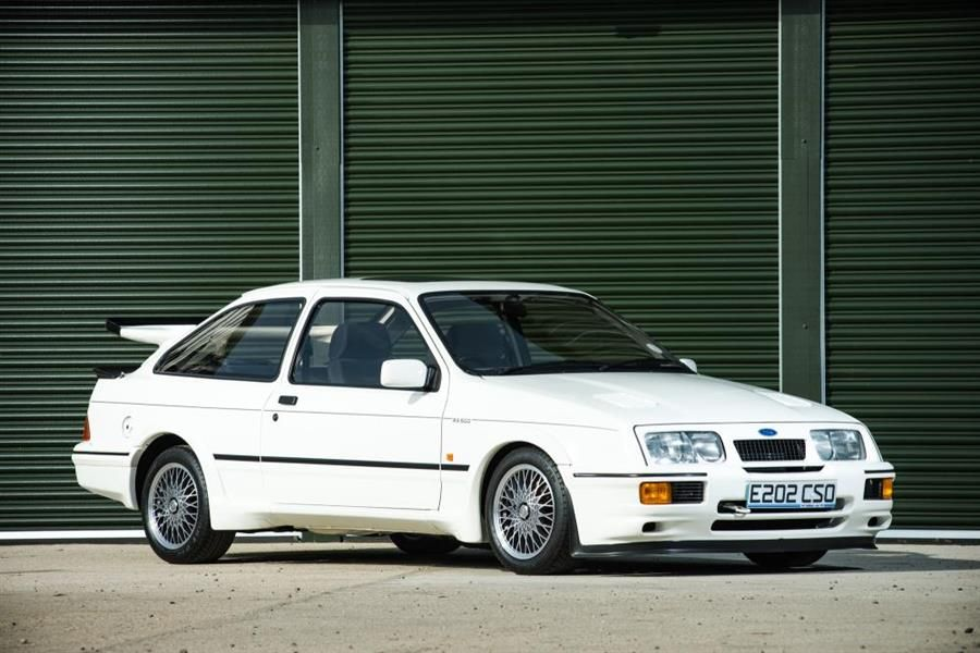 Iconic 80's Ford Sierra Cosworth RS500 at NEC Car Show Sale