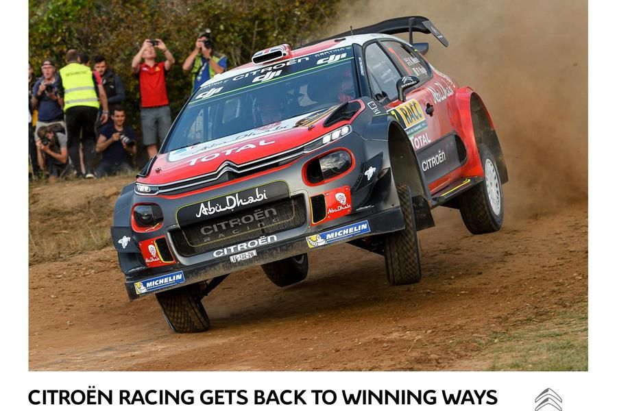 Citroën heads to Wales and penultimate WRC round