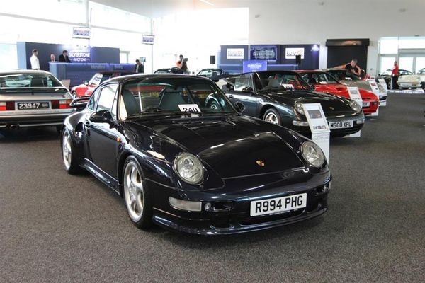 Porsche sale tops £2.5 million in three hours at Silverstone, results