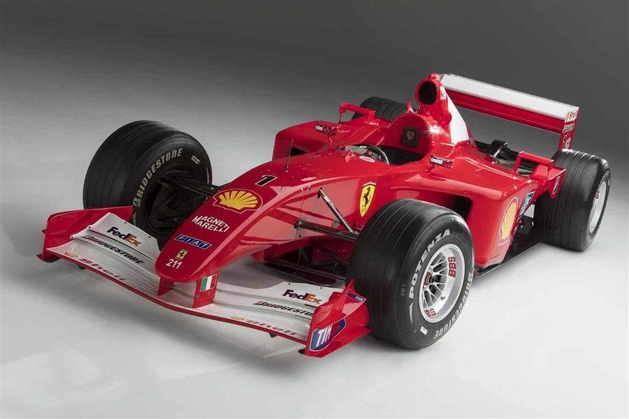 2001 Ferrari F2001 at Sotheby's Contemporary Art Evening Auction