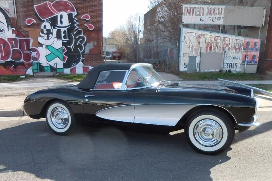 Featured at No Reserve in Mecum Vegas Auction: '57 Corvette Convertible