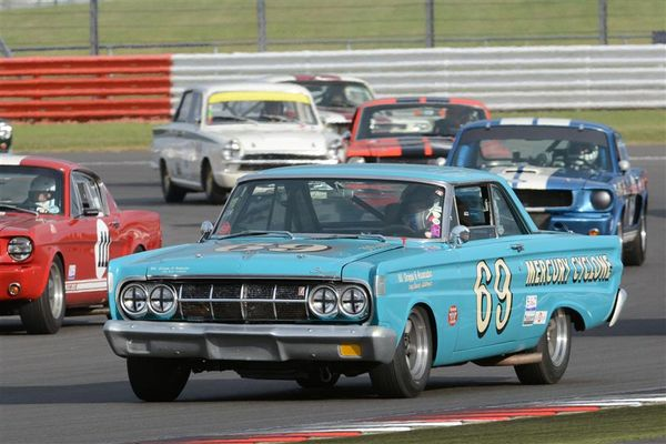 Sixties American muscle cars back on the Silverstone Classic bill