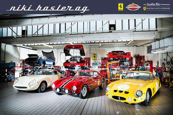 Niki Hasler - Official Ferrari Dealer - new web site
