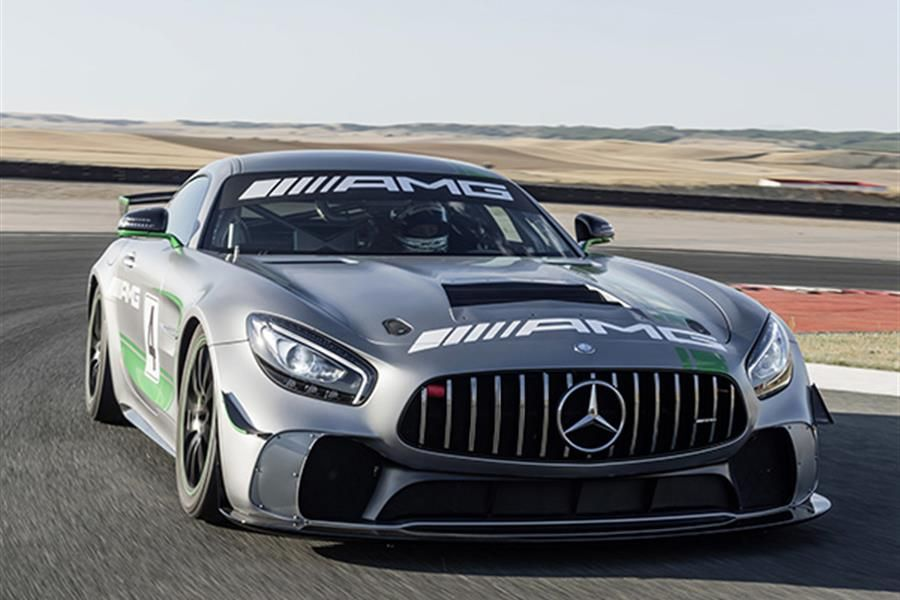 Mercedes-AMG GT4 Makes North American Debut This Weekend