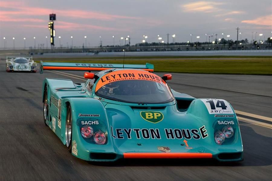 Tommy Dreelan and Aaron Scott Take Second Classic at Daytona Group C Win in 1987 Porsche 962