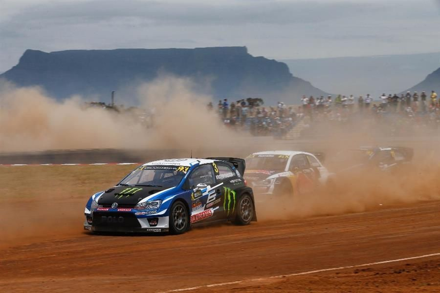 Kristoffersson wins inaugural World RX event in Africa