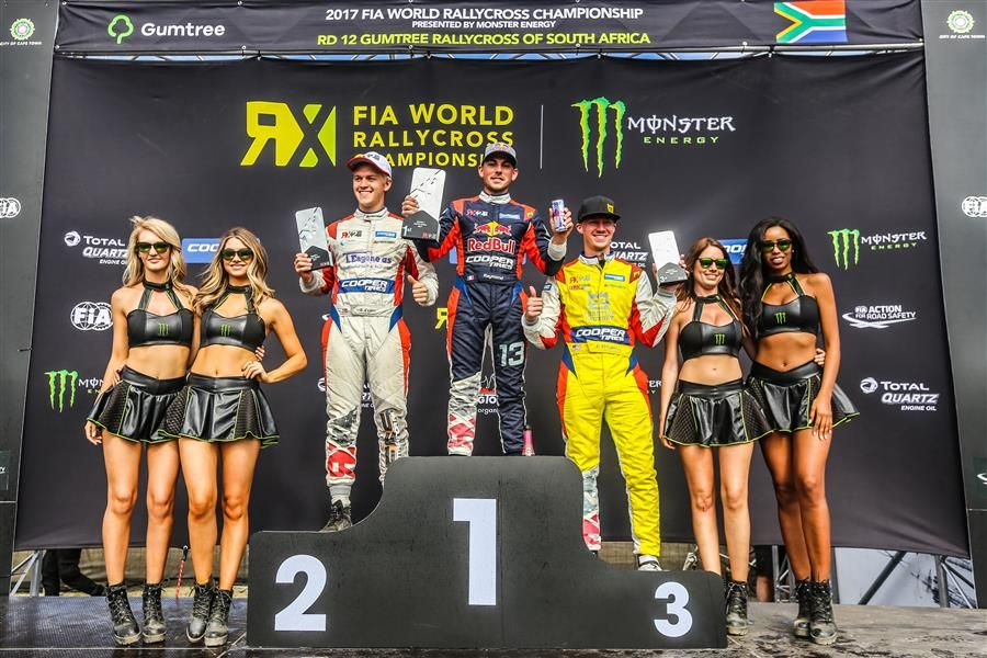 Raymond caps RX title-winning campaign with Cape Town triumph