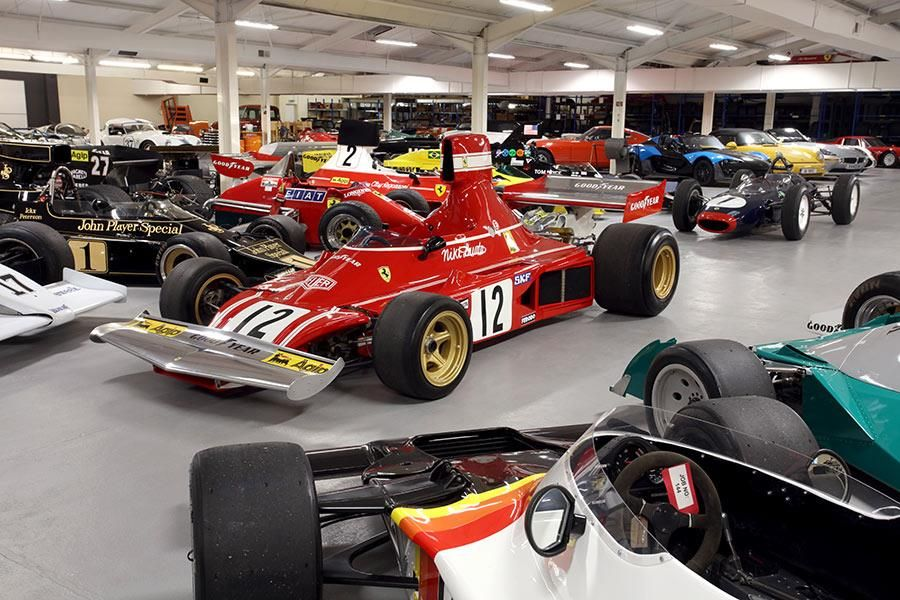 Hall and Hall - Historic F1 car specialist - new website