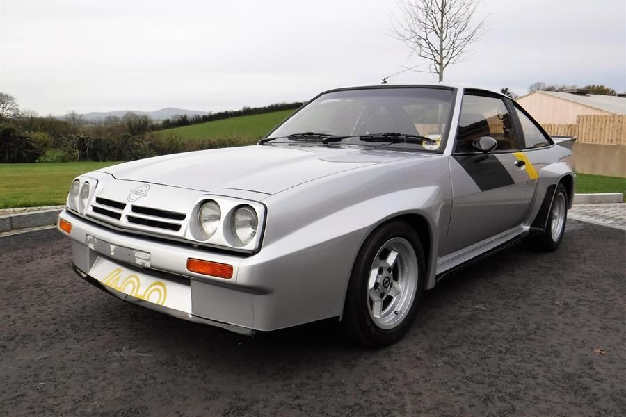 Rare, fully restored Opel Manta 400 homologation special for auction with Classic Car Auctions