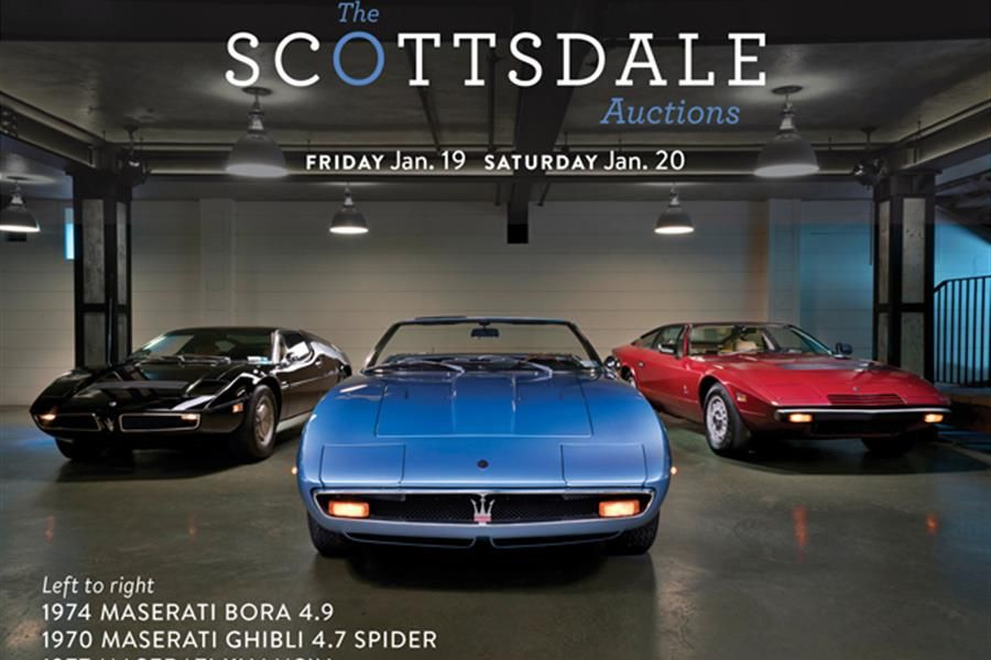 Offered from a Private Maserati Collection at The Scottsdale Auctions