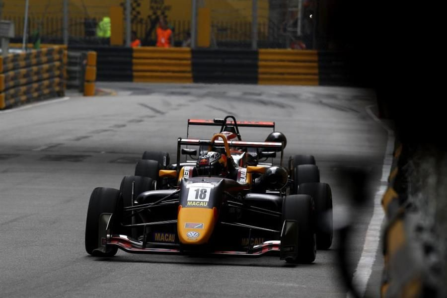 Daniel Ticktum win Macau F3 World Cup