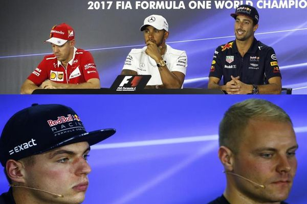 Abu Dhabi Grand Prix Drivers' Conference