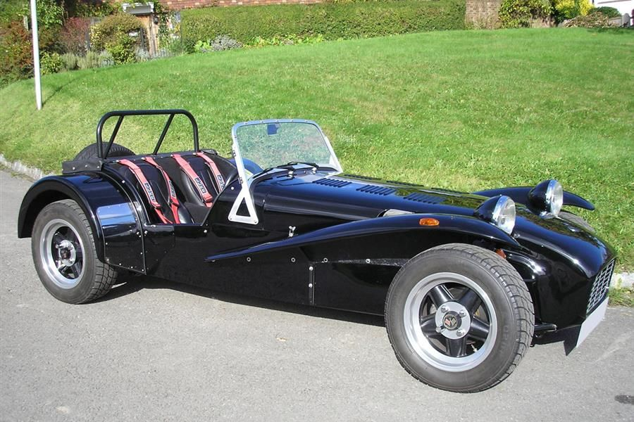 1987 Caterham Super 7 HPC-BDR previously owned by Rowan Atkinson on offer at Coys