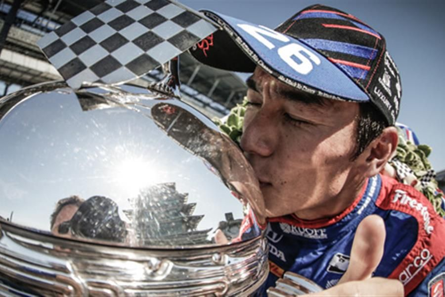 Borg-Warner Trophy Heads to Japan To Celebrate Sato's First Indianapolis 500 Victory