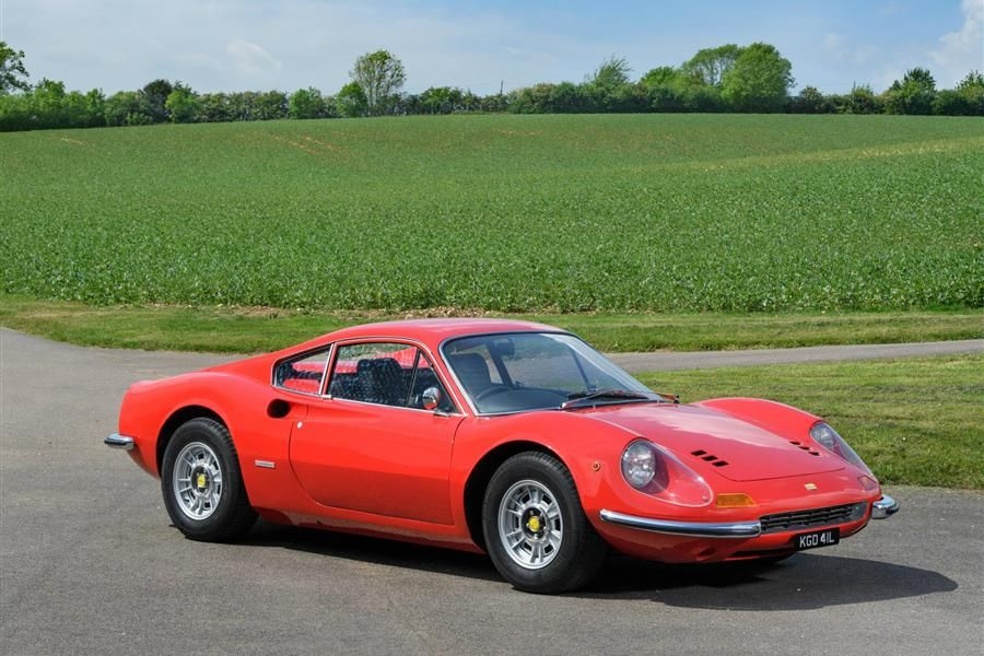 1973 Ferrari 246GT Dino at COY's Christmas Auction