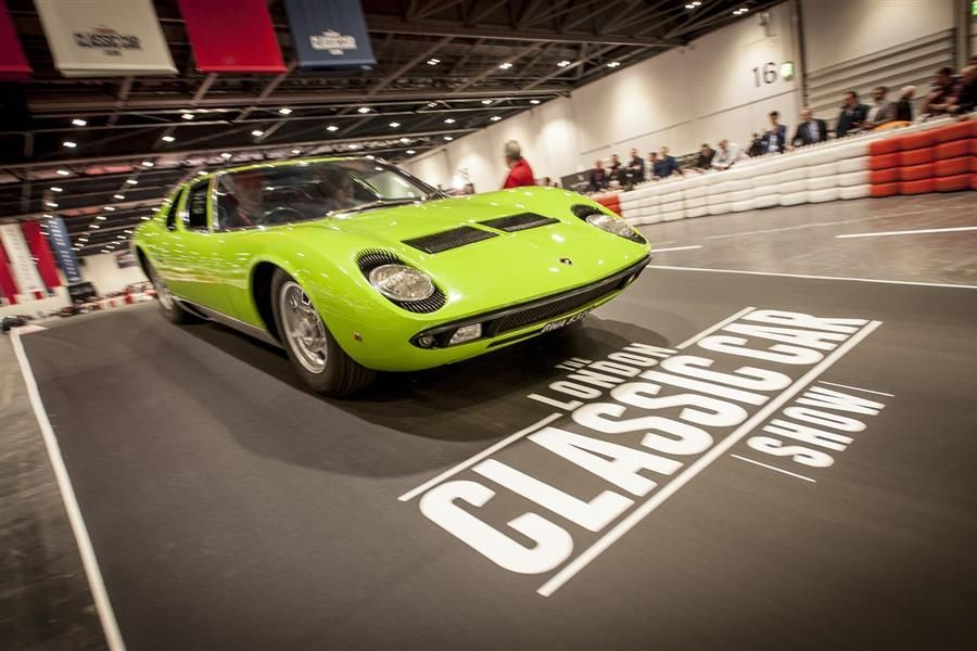 Tickets for London Classic Car Show now on sale