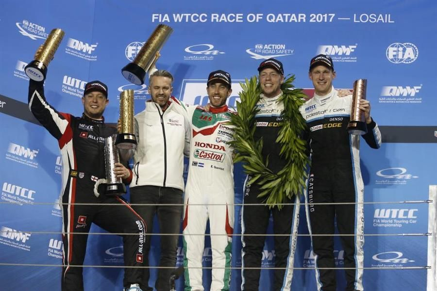 Thed Björk claims WTCC title glory in Qatar