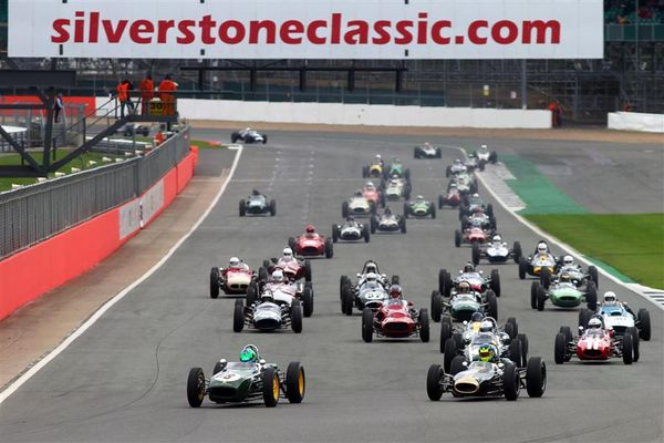 Silverstone Classic features cream of international historic racing action