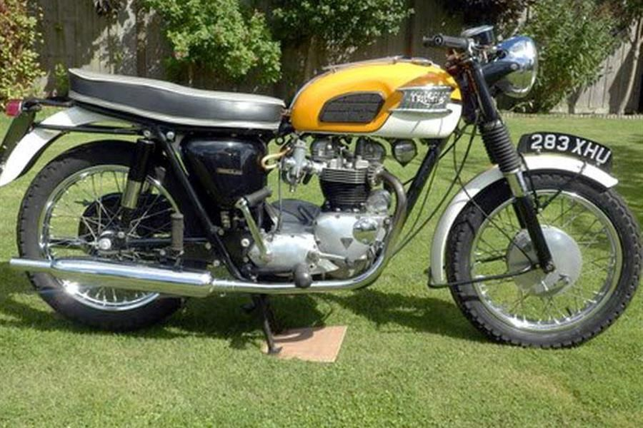 1964 Triumph T120 Bonneville at H&H National Motorcycle Museum Motorcycle Auction