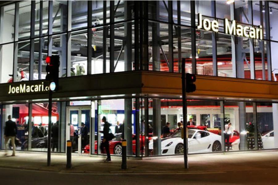 London Car Dealer Joe Macari