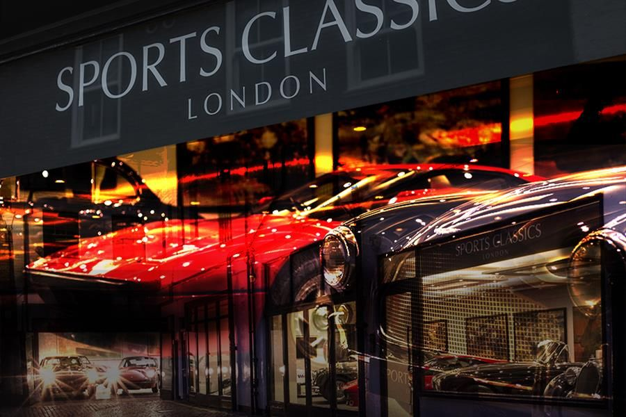Sports Classics London - classic car dealer in London - new web site