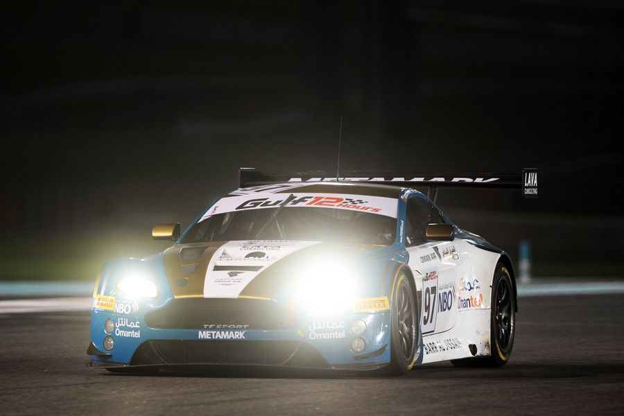 Al Harthy and Oman Racing celebrate podium in Gulf 12hrs