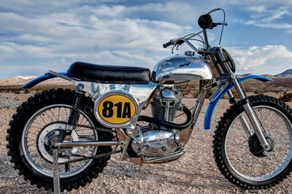 1971 Ducati Cheney Offroad MX Enduro Raced by Sig Erson on offer at Mecum Las Vegas