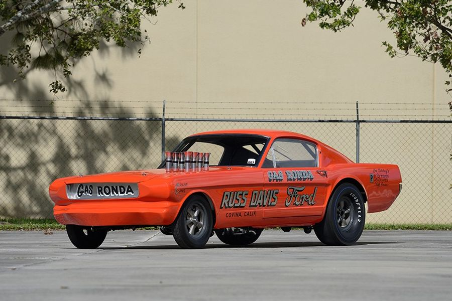 AHRA World-Champion 1966 Long Nose Mustang Driven by Gas Ronda at Kissimmee Auction