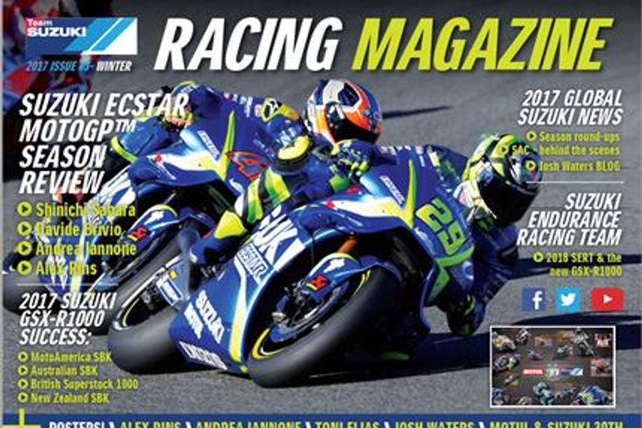 Latest Team Suzuki Racing Magazine is now available to read online
