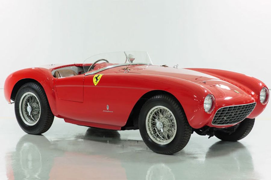 Race into 2018 with this Ferrari 500 Mondial from Scottsdale