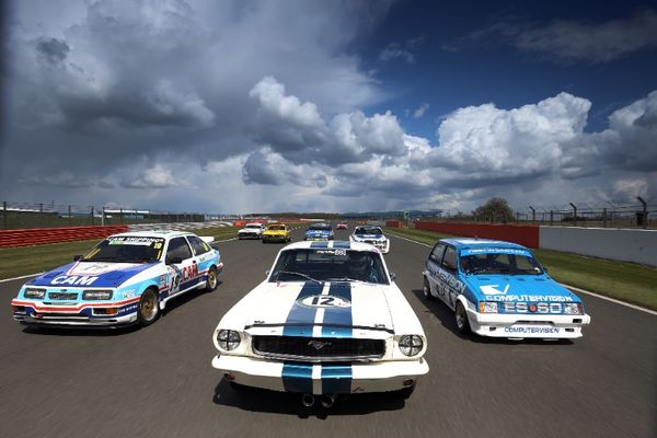 Silverstone Classic celebrates 60 years of the British Touring Car Championship