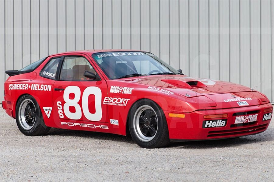 1985 porsche 944 turbo cup at gooding 39 s scottsdale auction news racecar. Black Bedroom Furniture Sets. Home Design Ideas