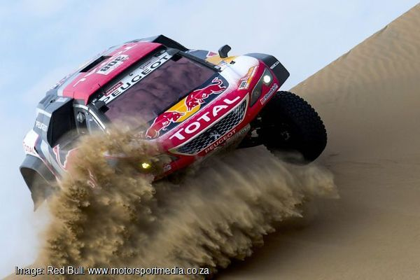 Despres wins amid on & off track challenges on Dakar stage 2