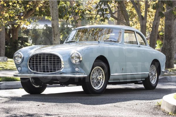 Exquisitely Restored 1953 Ferrari 212 Europa Coupe at Scottsdale Auction