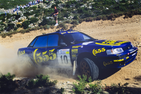 Vatanen and Burns driven Subaru Group A rallycar up for auction