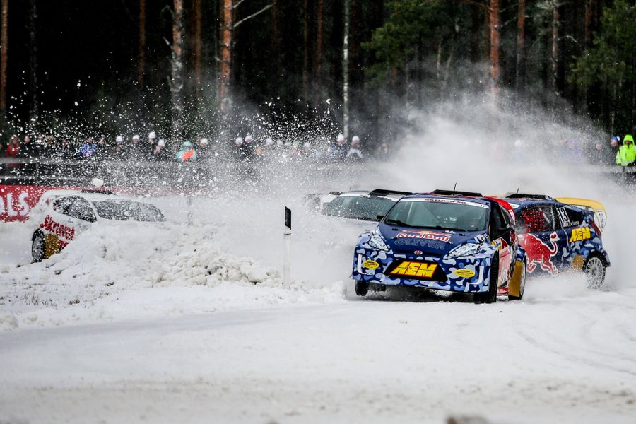 Stars from IndyCar, World Rallycross and GRC headline glittering RallyX on Ice entry list